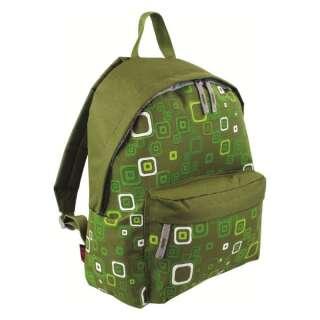 Рюкзак міський Highlander Zing 20 Kaleidos Square Print Green, HighLander