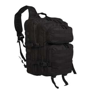 Рюкзак однолямочный ONE STRAP ASSAULT PACK LG, [019] Black, Sturm Mil-Tec® Reenactment