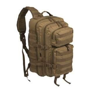 Рюкзак однолямочный ONE STRAP ASSAULT PACK LG, [120] Coyote, Sturm Mil-Tec® Reenactment