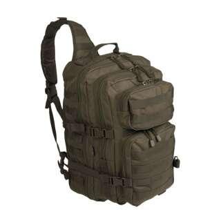 Рюкзак однолямочный ONE STRAP ASSAULT PACK LG, [182] Olive, Sturm Mil-Tec® Reenactment