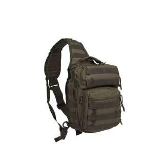 Рюкзак однолямочный ONE STRAP ASSAULT PACK SM, [182] Olive, Sturm Mil-Tec® Reenactment