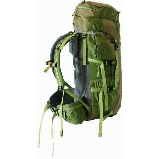 Рюкзак Tramp Floki 50+10 зеленый (TRP-046-green), TRAMP