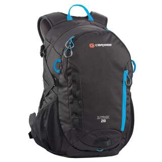 Рюкзак туристический Caribee X-Trek 28 Black/Ice Blue, Caribee (Australia)