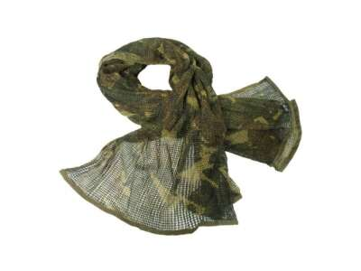 Сітка-шарф маскувальна, [1203] Англійська камуфляж DPM, Mil-tec