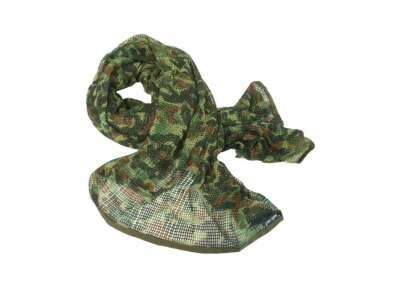 Сітка-шарф маскувальна, [1215] Німецький камуфляж, Mil-tec