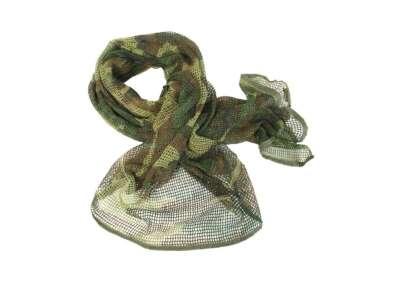 Сітка-шарф маскувальна, [1358] Woodland, Mil-tec