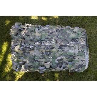 Сетка военная маскировочная на сетевой основе (3x3м), [1358] Woodland