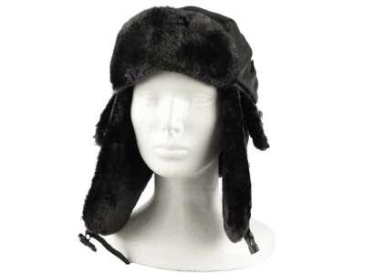 Шапка льотна зимова MA1, [019] Black, Mil-tec