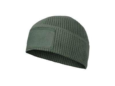 Шапка RANGE Beanie - Grid Fleece, Olive Green, Helikon-Tex®