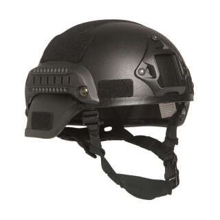 Шлем пластиковый Sturm Mil-Tec M.I.C.H. 2000 US Combat Helmet with Rail (Black), Sturm Mil-Tec®