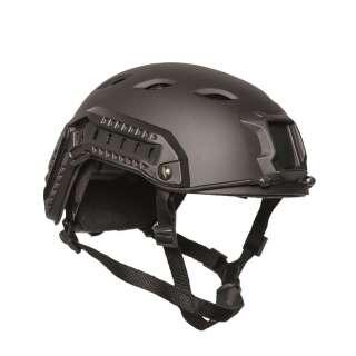 Шлем пластиковый US FAST W/RAIL PARATROOPER HELMET (Black), Sturm Mil-Tec®