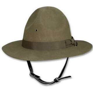 Шляпа US INSTRUCTOR HAT, [182] Olive, Sturm Mil-Tec® Reenactment