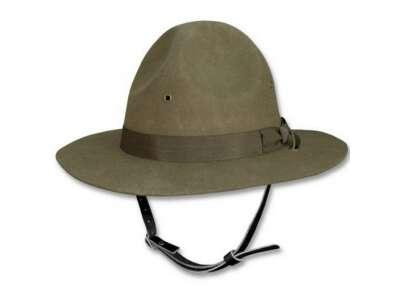 Шляпа US INSTRUCTOR HAT, [182] Olive, Sturm Mil-Tec® Reenactment