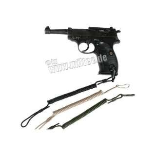 Шнур Mil-tec пістолетний страхувальний спіральний (Olive)