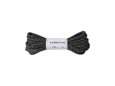 Шнурки Lowa ATC LO 130 cm, black/grey dotted, LOWA®