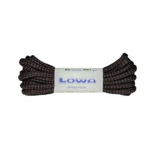 Шнурки Lowa ATC MID 150 cm, black/grey dotted, LOWA®