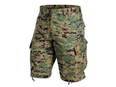 Шорты ACU - NyCo Twill, USMC Digital Woodland, Helikon-Tex