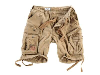 Шорты AIRBORNE VINTAGE SHORTS, [1344] Washed beige, Surplus Raw Vintage®