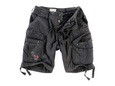 Шорты AIRBORNE VINTAGE SHORTS, [1346] Washed black, Surplus Raw Vintage®