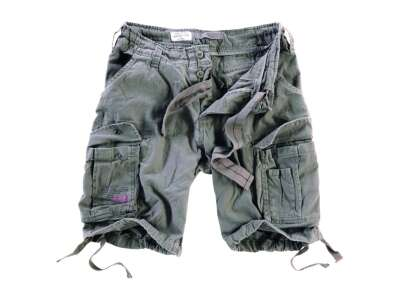 Шорты AIRBORNE VINTAGE SHORTS, [1349] Washed olive, Surplus Raw Vintage®