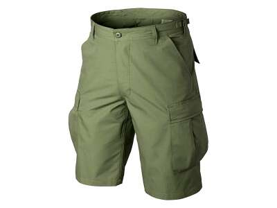 Шорты BDU - Cotton Ripstop, Olive Green, Helikon-Tex