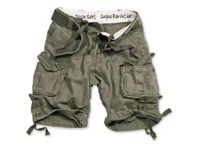 Шорты Division , [1349] Washed olive, Surplus Raw Vintage®