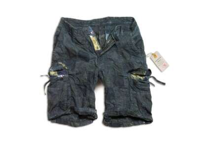 Шорты SURPLUS CHECKBOARD SHORTS, [1159] Синий, Surplus Raw Vintage®