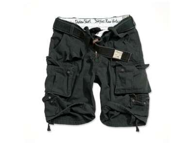 Шорты SURPLUS DIVISION SHORTS, [1346] Washed black, Surplus Raw Vintage®