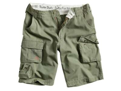 Шорты Surplus Trooper , [1349] Washed olive, Surplus Raw Vintage®