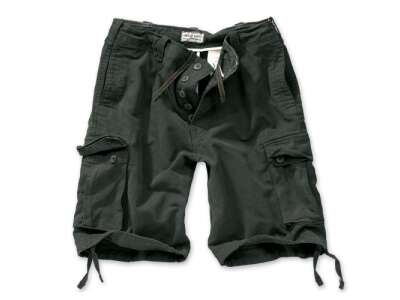 Шорты SURPLUS VINTAGE SHORTS WASHED, [1346] Washed black, Surplus Raw Vintage®