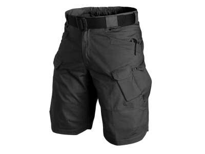 "Шорты URBAN 11"" - PolyCotton Ripstop, Black, Helikon-Tex"