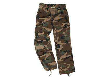 Штаны женские BDU - Cotton Ripstop, US Woodland, Mil-tec