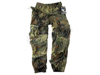 Штаны LEVEL 5 - Soft Shell, Flecktarn, Helikon-Tex