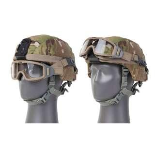Система ремней для крепления маски к защитному шлему ESS Profile Pivot Strap System ACH/MICH, [0457] Terrain Tan, ESS®