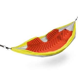 Спальний килимок утеплений (каремат) надувний в гамак Klymit Insulated Hammock V Sleeping Pad, [1276] Orange