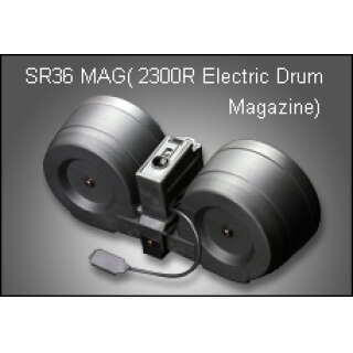 SRC electrical drum mag for G36 (2300 rds)