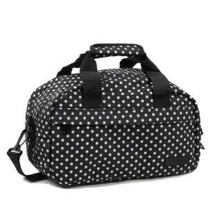 Сумка дорожная Members Essential On-Board Travel Bag 12.5 Black Polka, Members (UK)