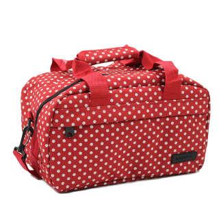 Сумка дорожная Members Essential On-Board Travel Bag 12.5 Red Polka, Members (UK)