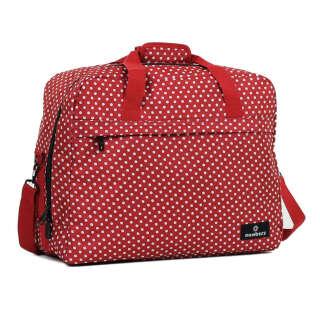 Сумка дорожня Members Essential On-Board Travel Bag 40 Red Polka
