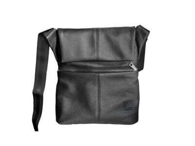 Сумка кожаная плечевая с кобурой A-line® А40 [019] Black