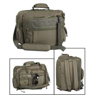 Сумка-рюкзак для документов AVIATOR DOCUMENT CASE, [182] Olive, Sturm Mil-Tec® Reenactment
