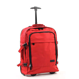 Сумка-рюкзак на колесах Members Essential On-Board 33 Red, Members (UK)