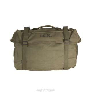Сумка транспортная американская M1945 CARGO BAG, [182] Olive, Sturm Mil-Tec® Reenactment