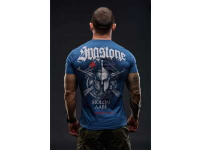 SvaStone футболка Molon Labe Navy