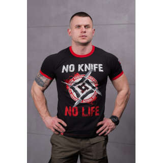 SvaStone футболка No Knife - No Life Sport Edition