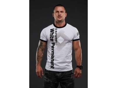 SvaStone футболка White Permanent белая