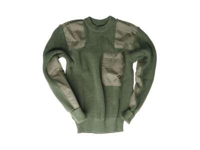 Свитер военный Commandos (шерстяной), [182] Olive, Sturm Mil-Tec® Reenactment