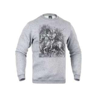 Свитшот зимний Рыцарь, смерть и дьявол [1232] Iron Grey, P1G®