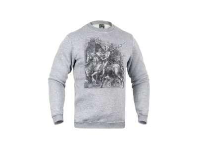 Світшоти зимовий Лицар, смерть і диявол [+1232] Iron Grey, P1G-Tac