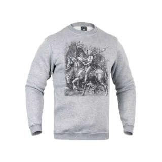 Свитшот зимний Рыцарь, смерть и дьявол, P1G®